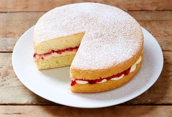 Image ofGluten Free Vanilla Sponge Cake
