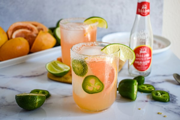 paloma grapefruit tonic cocktail recipe