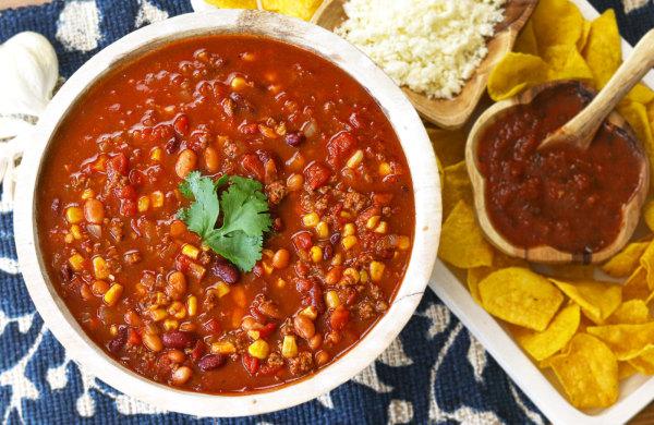 Image of Savory Taco Soup
