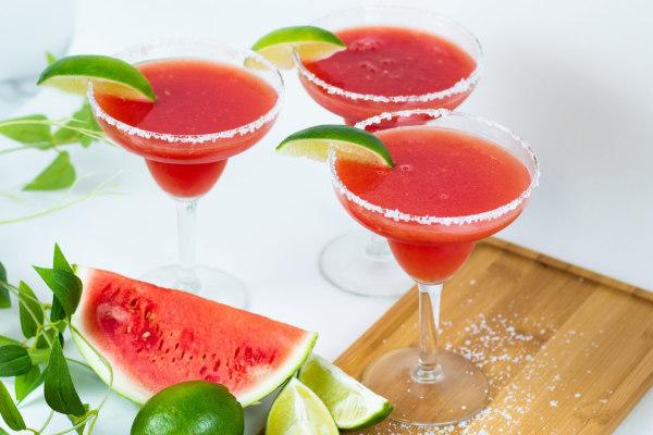 Image ofNorthwest Sunset Watermelon Margaritas