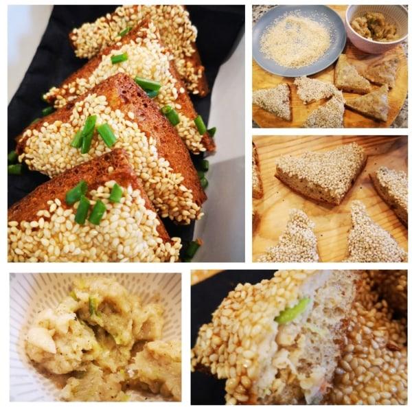Image of Sesame Seed Prawn Toast