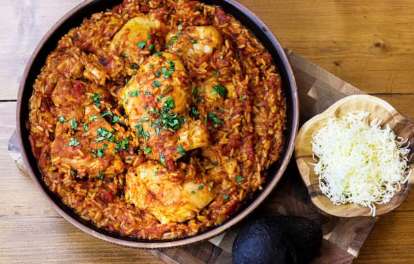 Image ofJambalaya Salsa Chicken Casserole