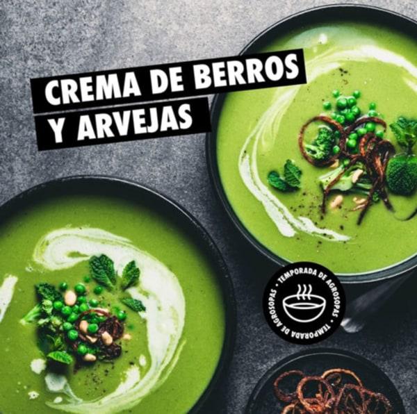 Image ofCrema de Berros y Arvejas