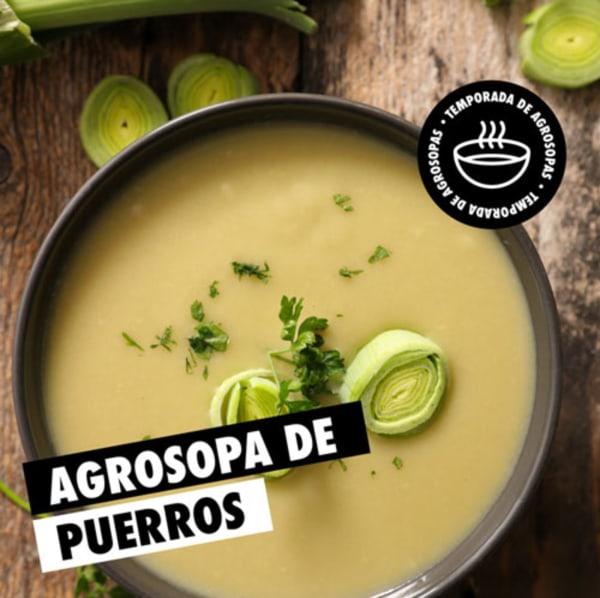 Image ofSopa de Puerros #Agrosopa