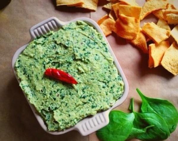 Image of Vegan Spinach Artichoke Dip