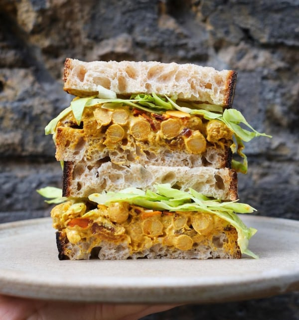 Image ofCoronation Chickpea Sandwich
