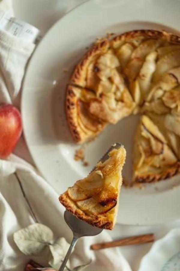 Image of Cinnamon Apple Tart Recipe