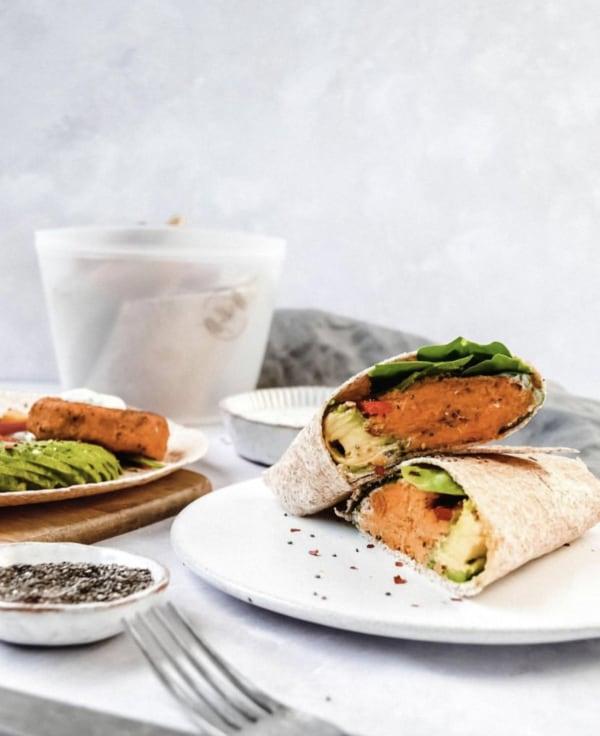 Image ofSweet Potato Falafel Wraps