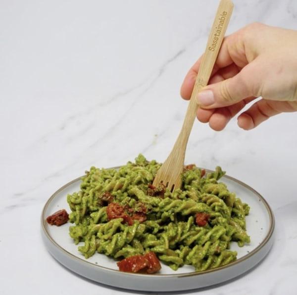 Image of Cashew Pesto Pasta
