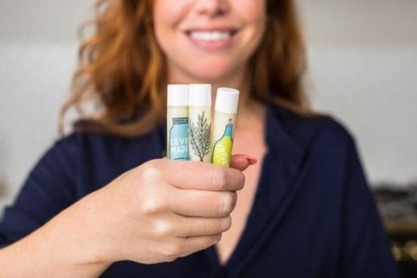 Image ofHomemade Mint Lip Balm