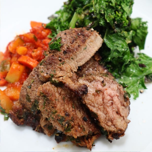 Image of Lamb Steak with Middle Eastern Rub