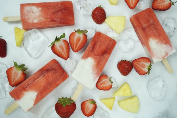 Image of Edible Popsicles Recipe