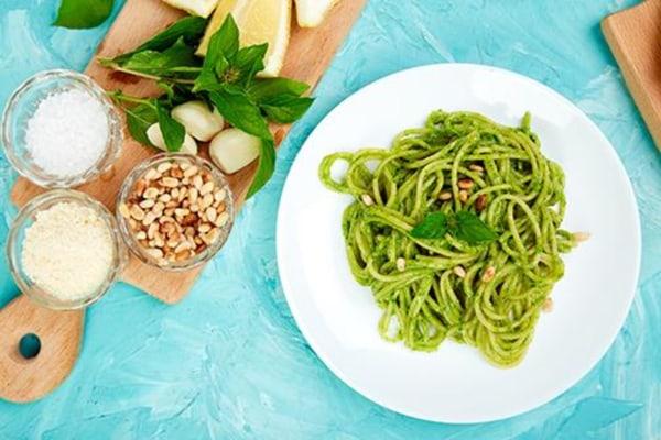 Image ofRecipe for Green Spaghetti