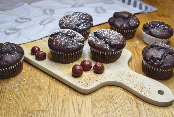 Image ofSchoko-Kirsch-Muffins