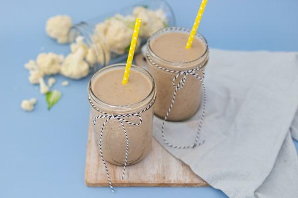 Image of Vanilla Smoothie with a Veggie Twist+