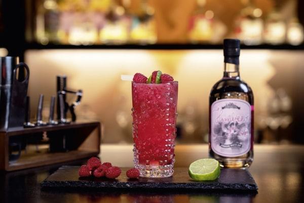 Image of Raspberry Gin Fizz Rezept