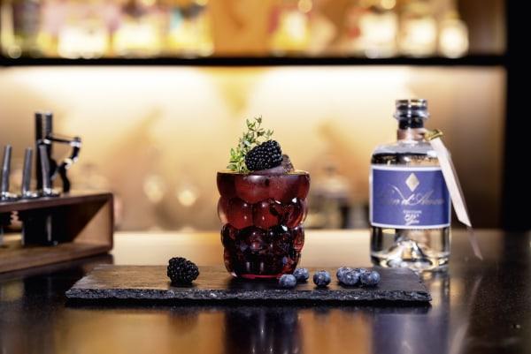 Image of Blueberry Thyme Gin Rezept