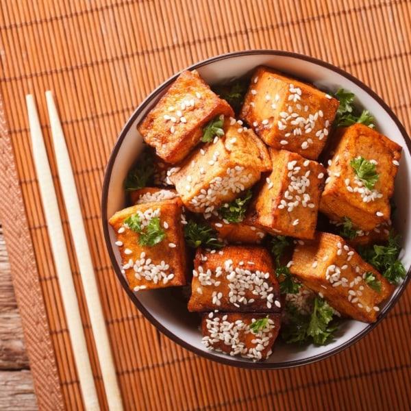Image of Sweet Chilli Crisp Tofu