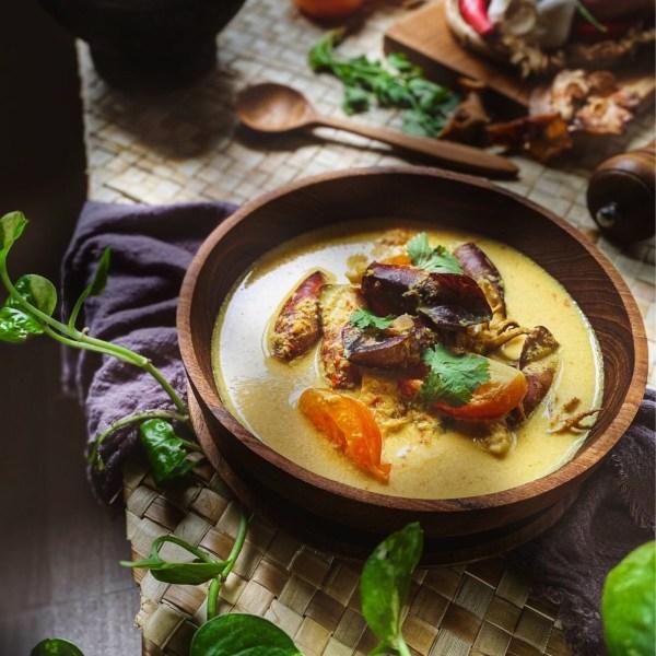 Image of Simple Vegetable Coconut Curry (Sayur Masak Lemak)