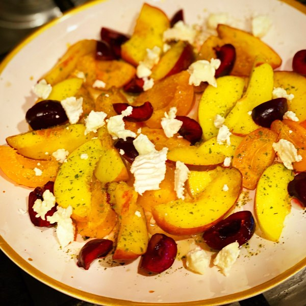 Image of Peach, Apricot and Cherry Salad