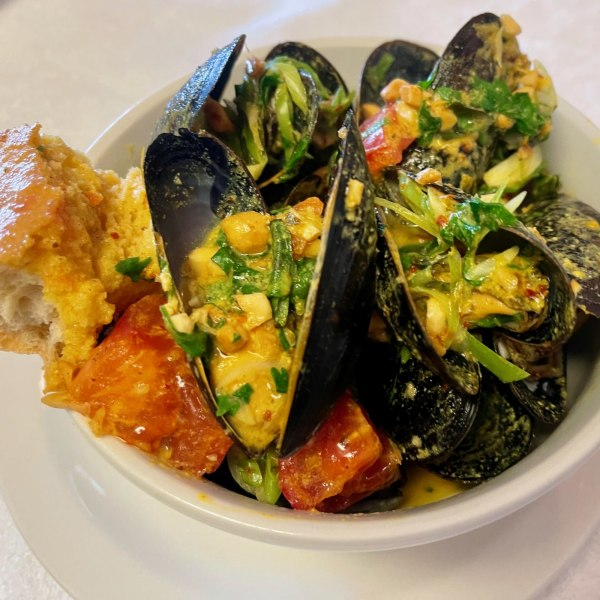 Image of Penang Coconut Curry Mussels