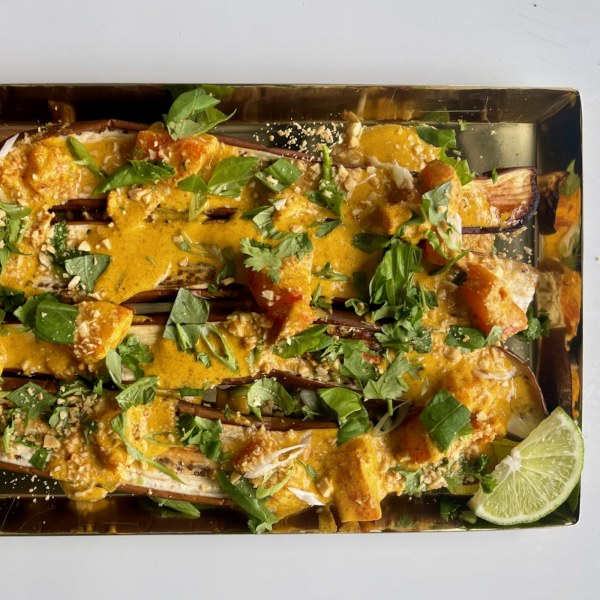 Image of Penang Coconut Curry Eggplant