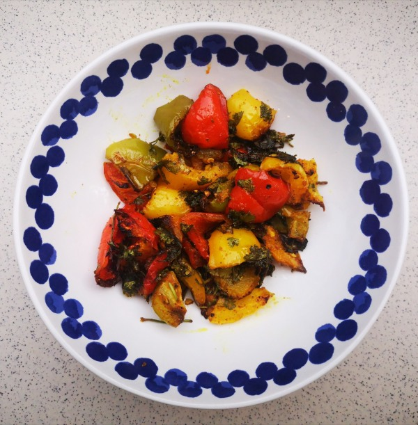 Image of Pepper 4 Ways - Roasted, Curried Peppers