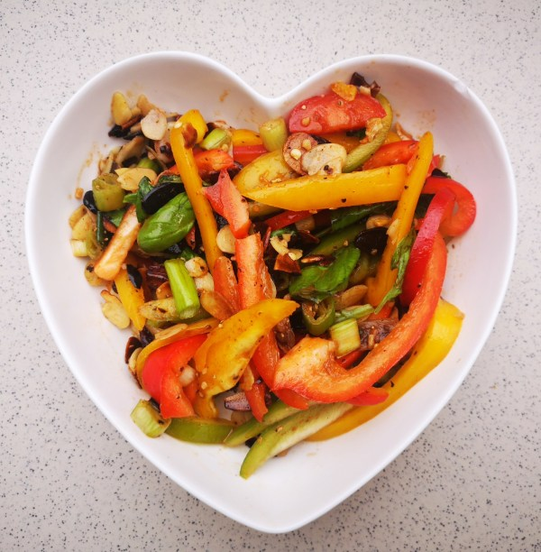 Image of Peppers 4 Ways - Fresh Pepper Salad, with Anchovies