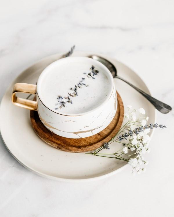 Image of Lavender Latte Recipe