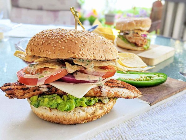 Image ofMexican Chicken Burger