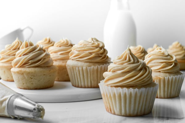 Image of Delicious Salted Caramel Buttercream Frosting