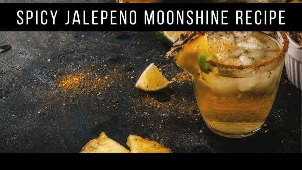Image ofSpicy Jalepeno Moonshine