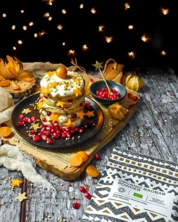 Image ofBaobab Christmas Pancakes