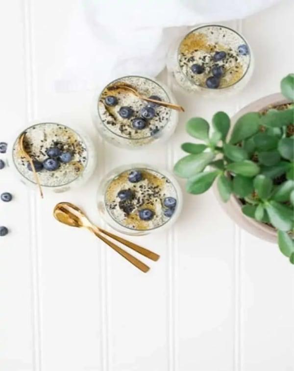 Image ofMoringa Blueberry Smoothie
