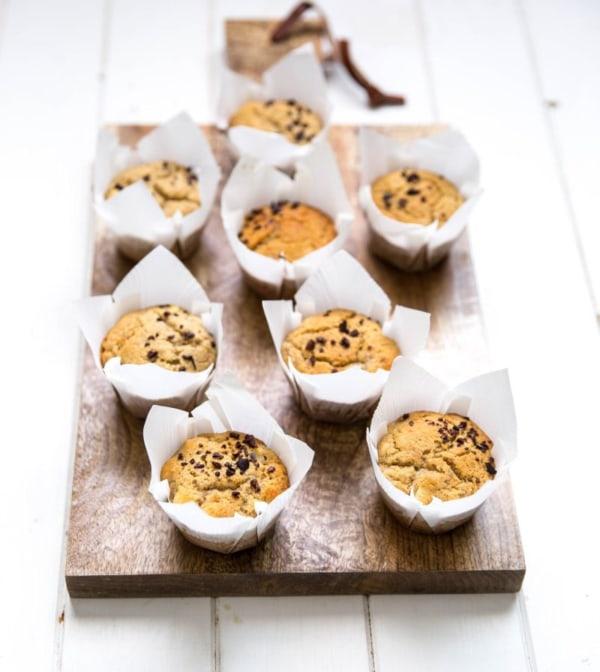 Image ofMaca Banana Macadamia Muffins