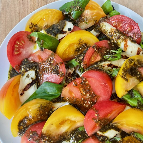Image of Heirloom Tomato and Grilled Haloumi Salad