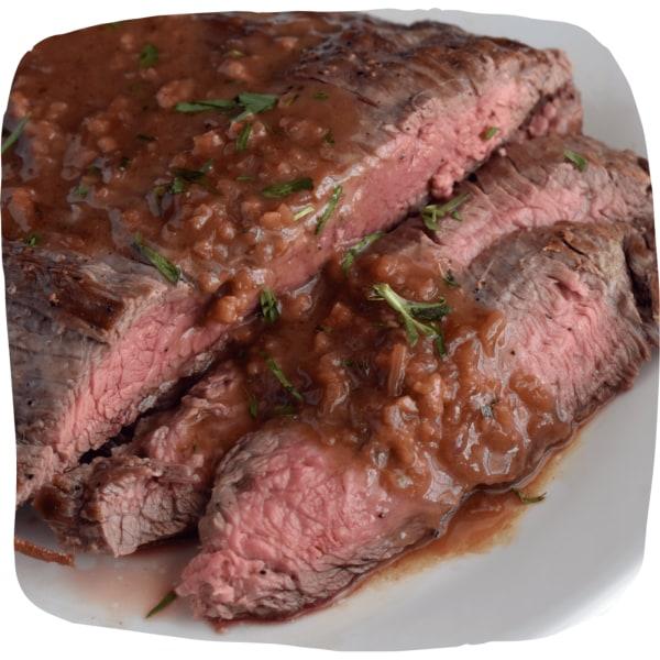 Image of Balsamic Mustard Flank Steak