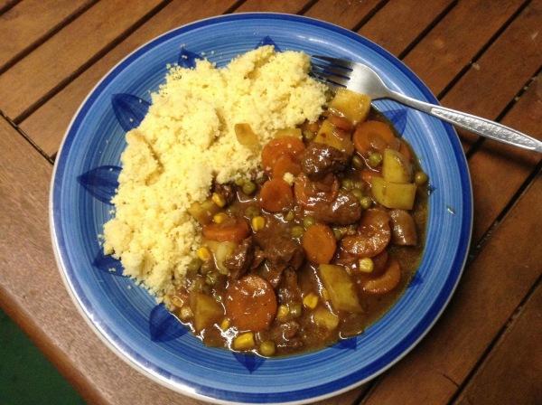 Image ofBrad's Sweet lamb curry