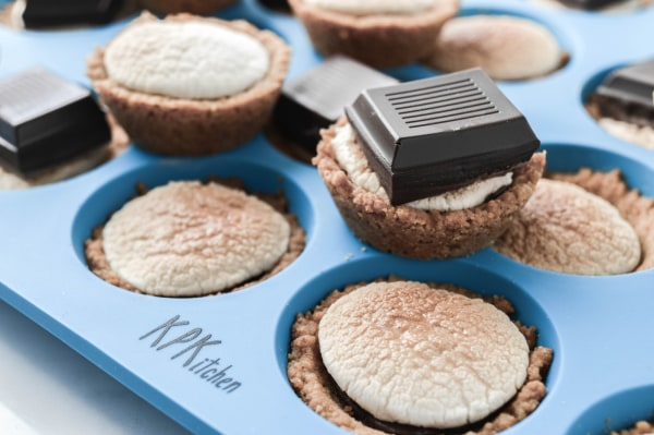Image of The Best Chocolate S'mores Cups