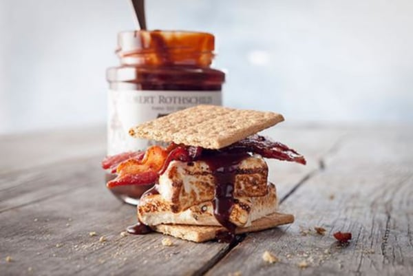 Image of Bacon Bourbon Marshmallow S'mores
