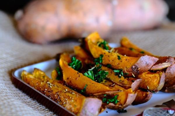 Image of Infused Cajun Sweet Potato Fries Recipe