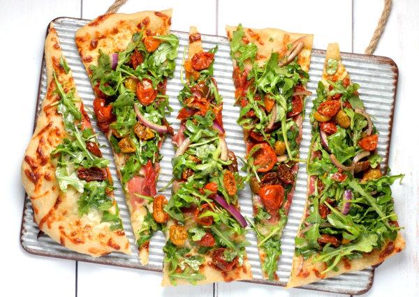 Image of Infused Vegan Pesto Pizza