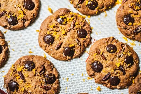Image of Infused Pumpkin Pecan Cookies