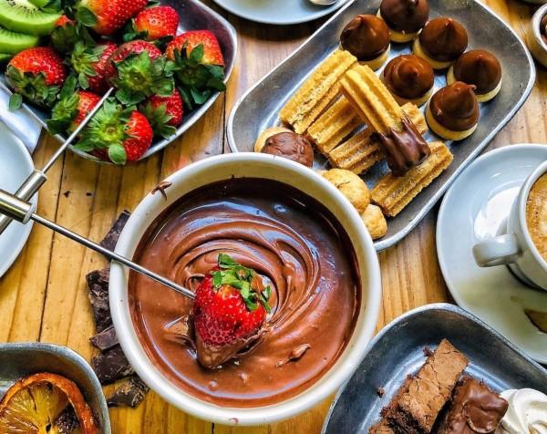 Image of Easy Chocolate Fondue