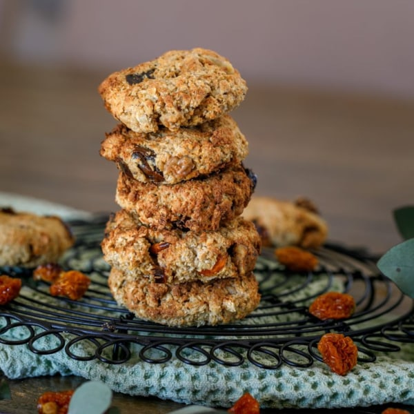 Image of Goldenberry, White Chocolate & Coconut Cookies