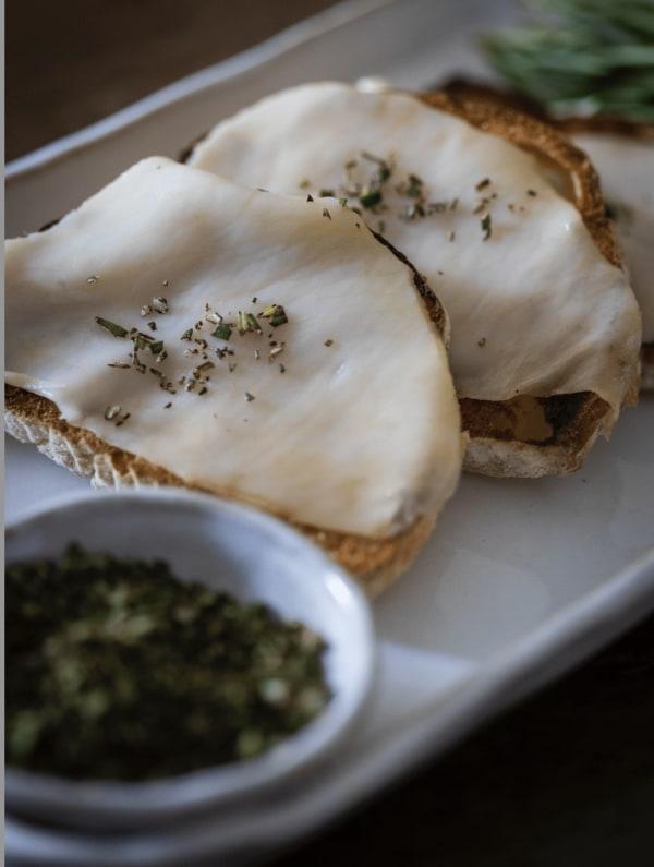 Lardo Crostini Recipe - English charcuterie recipes