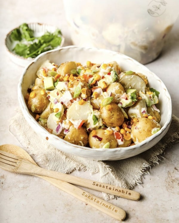 Image of Mexican-Inspired Potato Salad