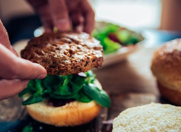 Image des burgers aux haricots noirs