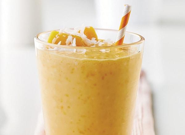 Image of Chunky Coconut Mango Smoothie