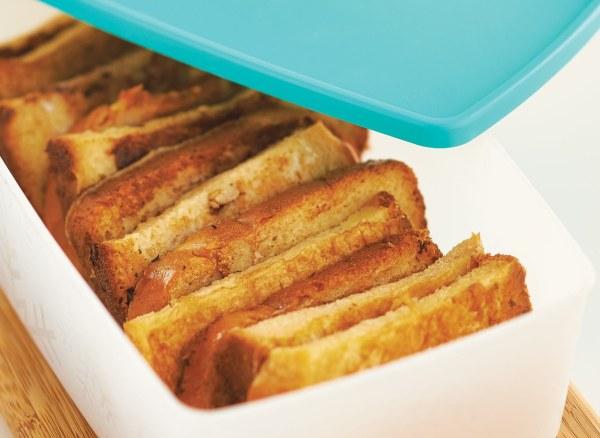 Image de Bâtonnets de pain perdu au congélateur